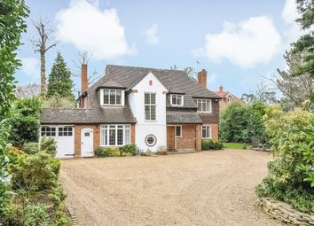Thumbnail 4 bed detached house to rent in Granville Close, St. Georges Hill, Weybridge