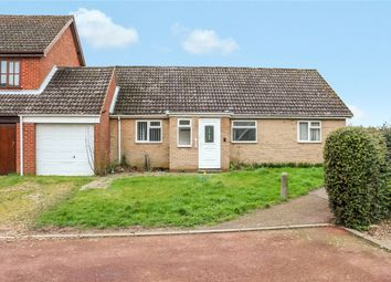 Thumbnail 2 bed bungalow for sale in Burgess Way, Brooke, Norwich, Norfolk