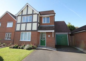 Thumbnail 4 bed detached house for sale in Pritchard Drive, Hawkinge, Folkestone