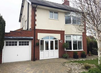 Thumbnail 3 bedroom detached house for sale in Black Bull Lane, Fulwood, Preston