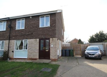 Thumbnail 3 bedroom semi-detached house for sale in Simons Cross, Wickham Market, Woodbridge, Suffolk