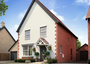 "Thumbnail 4 bed link-detached house for sale in ""Irving"" at Caistor Lane, Poringland, Norwich"