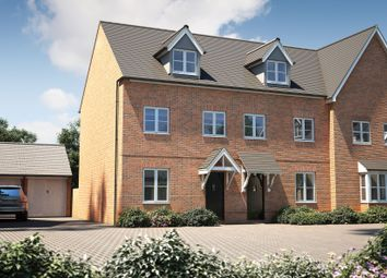 "Thumbnail 3 bed terraced house for sale in ""The Chastleton"" at Bishopsfield Road, Fareham"