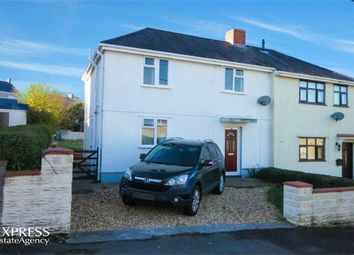 Thumbnail 3 bed semi-detached house for sale in Gwernant, Cwmllynfell, Swansea, West Glamorgan