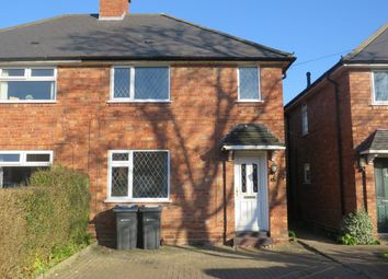 Thumbnail 2 bedroom semi-detached house to rent in Jerome Road, Sutton Coldfield