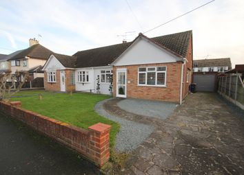 Thumbnail 3 bed semi-detached bungalow for sale in Central Avenue, Ashingdon, Rochford