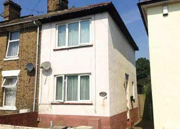 Thumbnail 2 bed terraced house for sale in Trafalgar Street, Gillingham, Kent