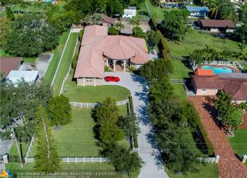 Thumbnail 5 bed property for sale in 14075 Sw 24th St, Davie, Fl, 33325