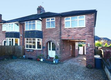 Thumbnail 4 bed semi-detached house for sale in Heath Avenue, May Bank, Newcastle
