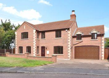 Thumbnail 5 bedroom detached house for sale in Roman Drive, Stibbington, Peterborough
