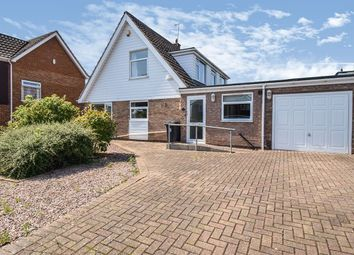 Thumbnail 3 bed detached house for sale in Finch Close, Leicester