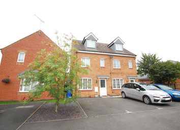 Thumbnail 3 bed town house for sale in Barker Round Way, Burton-On-Trent