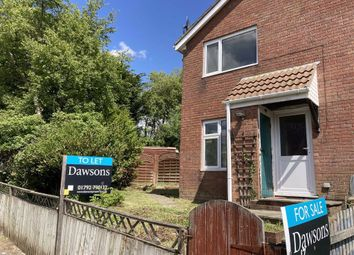 Thumbnail 1 bedroom semi-detached house for sale in Bronwydd, Birchgrove, Swansea