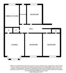 Thumbnail 3 bed flat for sale in Albert Drive, Glasgow, Lanarkshire