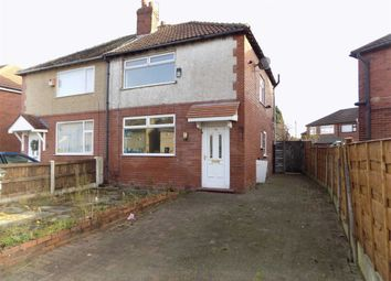Thumbnail 3 bedroom semi-detached house for sale in Harrogate Road, Reddish, Stockport