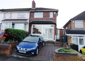 Thumbnail 3 bed end terrace house for sale in Victor Road, Solihull