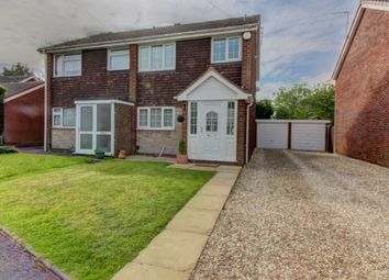 Thumbnail 3 bedroom semi-detached house for sale in Field Close, Pelsall, Walsall