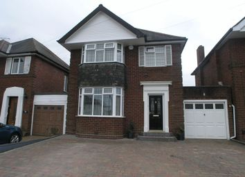Thumbnail 3 bed detached house for sale in Garland Crescent, Halesowen