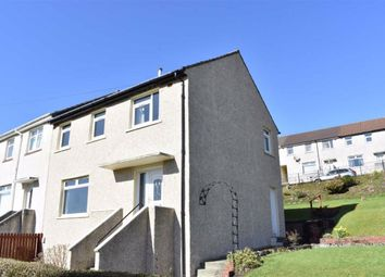Thumbnail 3 bedroom end terrace house for sale in 22, Kinloch Lane, Greenock, Renfrewshire