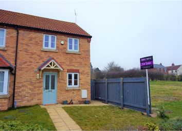 Thumbnail 2 bed end terrace house for sale in The Leys, Hull