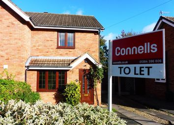 Thumbnail 2 bed semi-detached house to rent in Meadow Park Road, Stourbridge