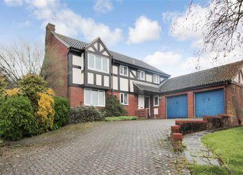 Thumbnail 5 bedroom detached house for sale in Oakapple Close, Wanborough, Swindon