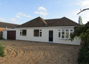 Thumbnail 3 bed bungalow for sale in Leverington Common, Leverington, Wisbech