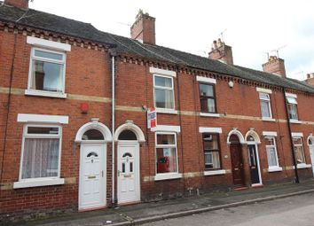 Thumbnail 2 bedroom terraced house for sale in Grove Street, Leek, Staffordshire
