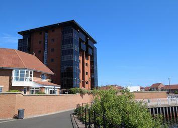 Thumbnail 2 bed flat for sale in Bromarsh Court, Roker Marina, Sunderland