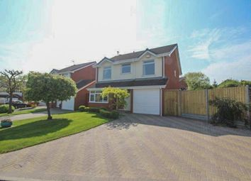 Thumbnail 4 bed detached house for sale in Polperro Drive, Allesley, Coventry