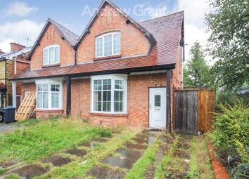 Thumbnail 2 bed semi-detached house to rent in Birmingham Road, Studley, Warwickshire