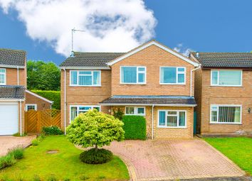 Thumbnail 4 bed detached house for sale in Cromwell Close, Desborough