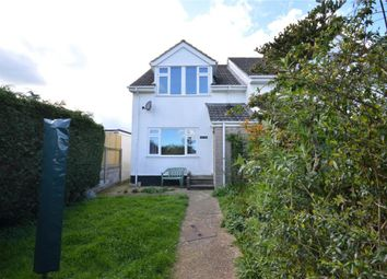 Thumbnail 3 bed semi-detached house for sale in River Valley Road, Chudleigh Knighton, Chudleigh, Newton Abbot