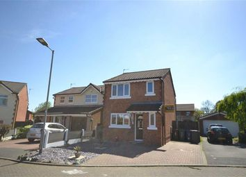 Thumbnail 3 bed detached house for sale in Riverside Close, Manchester