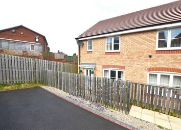 Thumbnail 3 bedroom semi-detached house to rent in Lamphouse Way, Wulfstan Grange, Newcastle-Under-Lyme