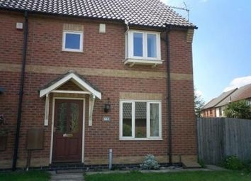 Thumbnail 3 bed semi-detached house to rent in Laurel Road, Loughborough