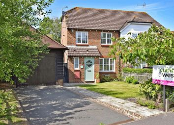 Thumbnail 3 bed semi-detached house for sale in Cricketers Close, Ashington, West Sussex