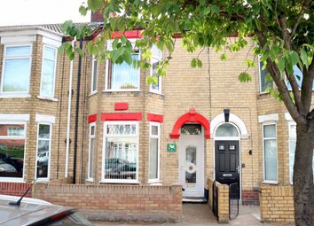 Thumbnail 3 bed terraced house for sale in Newcomen Street, Hull, Yorkshire