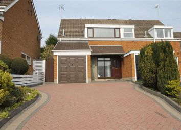 Thumbnail 3 bedroom semi-detached house for sale in Kenswick Drive, Halesowen