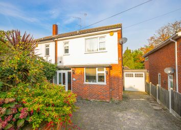Thumbnail 3 bed semi-detached house for sale in Marjorams Avenue, Loughton, Essex