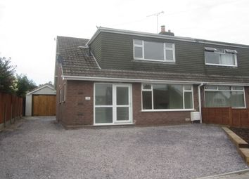 Thumbnail 3 bed semi-detached house for sale in Earls Road, Shavington, Crewe