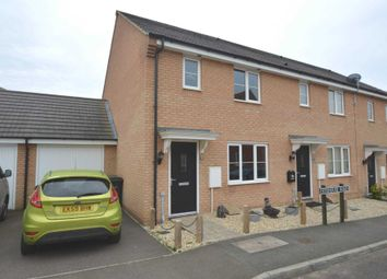 Thumbnail 3 bed semi-detached house for sale in Foxhouse Road, Queens Hill, Costessey