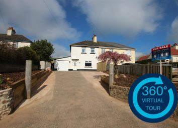 Thumbnail 3 bed semi-detached house for sale in Silver Street, Thorverton, Exeter