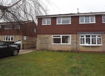 Thumbnail 3 bed property to rent in Caldervale Drive, Stafford