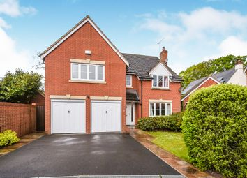 Thumbnail 5 bed detached house for sale in Healys Meadow, Cotford St. Luke, Taunton