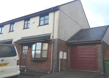 Thumbnail 3 bed semi-detached house to rent in Elm Drive, St. Columb