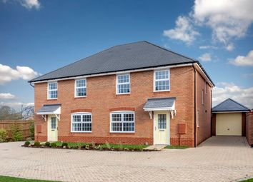 "Thumbnail 3 bed semi-detached house for sale in ""Ingleby"" at Brogdale Road, Ospringe, Faversham"