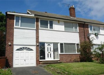 Thumbnail 4 bed semi-detached house to rent in Sheldon Grove, Gosforth, Newcastle, Tyne And Wear