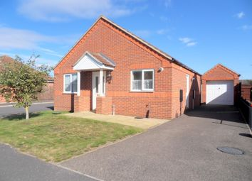 Thumbnail 2 bed detached bungalow for sale in Kestrel Close, Sutton Bridge, Spalding, Lincolnshire