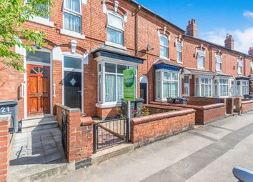 Thumbnail 3 bed terraced house for sale in Evelyn Road, Sparkhill, Birmingham